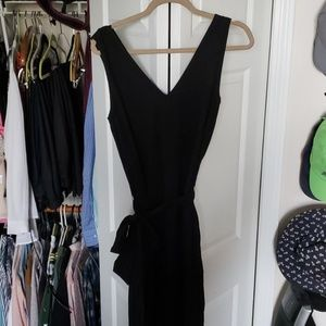 Black Max Studio jumpsuit size Large